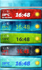 Temperature Clock Widget screenshot 2