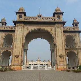 Mysore palace by Manjunath Nagesha Rao - Buildings & Architecture Public & Historical