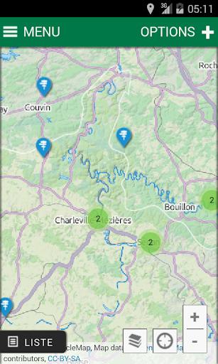 Grandes routes de l'Ardenne