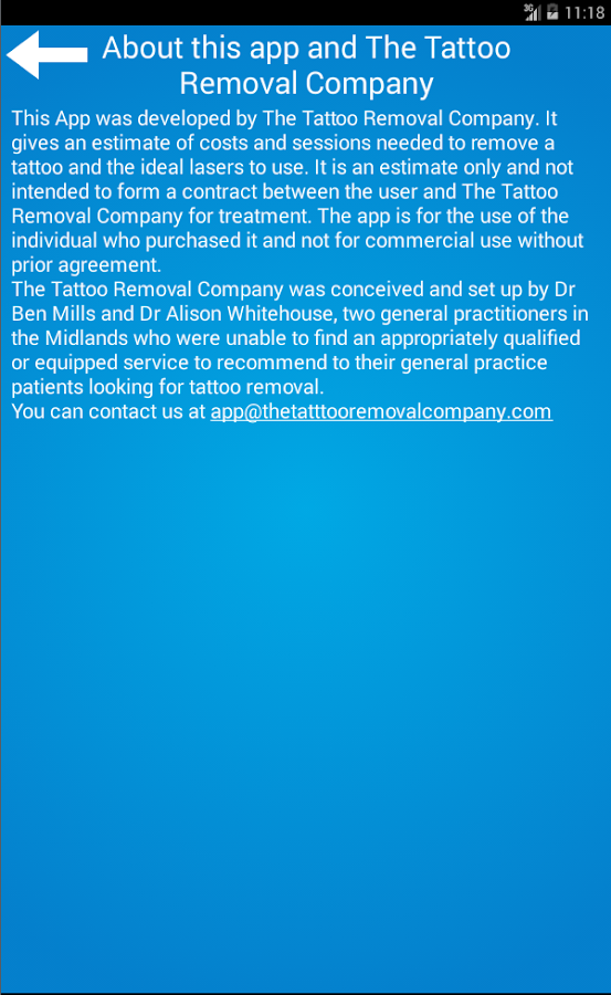 The Tattoo Removal Company App - Android Apps on Google Play