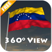 Real Venezuela Flag Live Wall