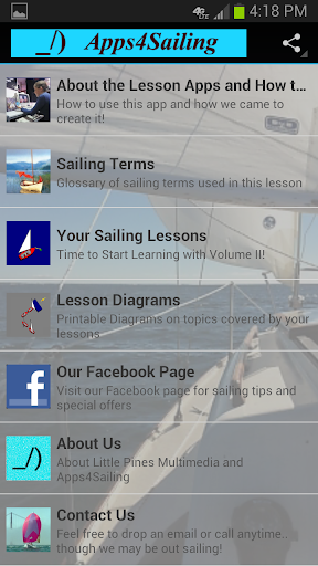 Learn To Sail VOL 2 Sail App