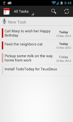 TodoToday for TeuxDeux