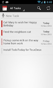 TodoToday for TeuxDeux- screenshot thumbnail