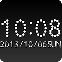 Dots clock widget -Me Clock icon