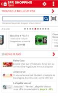 Screenshot of SFR Shopping
