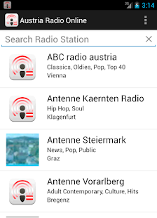 Austria Radio Online - screenshot thumbnail