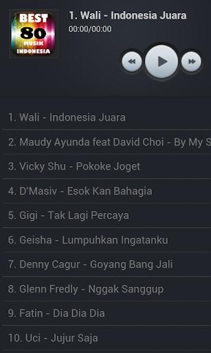 Best 80 Musik Indonesia 2014
