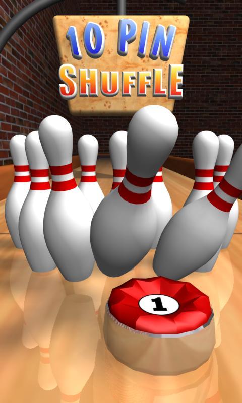 10 Pin Shuffle Bowling- screenshot
