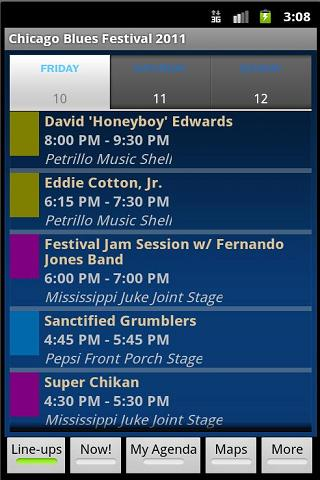 Chicago Blues Festival 2011 - screenshot