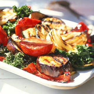 Grilled Vegetables with Balsamic Vinaigrette.