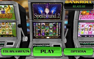 Screenshot of Spellbound 2 HD Slots
