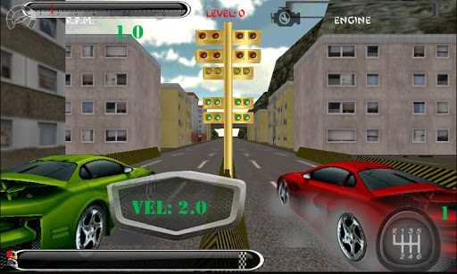Drag driver Race: free 3d