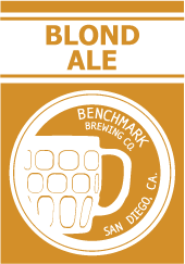 Logo of Benchmark Blond Ale