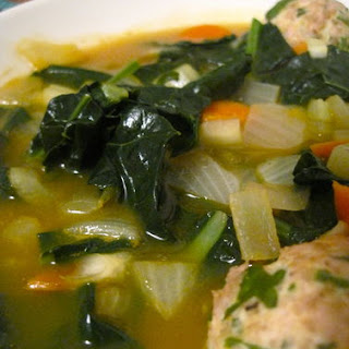 Italian Wedding Soup with Turkey Meatballs Recipe