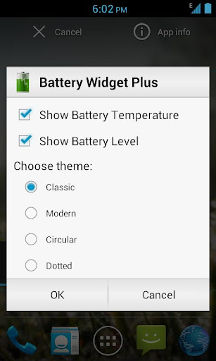 Battery Widget Plus