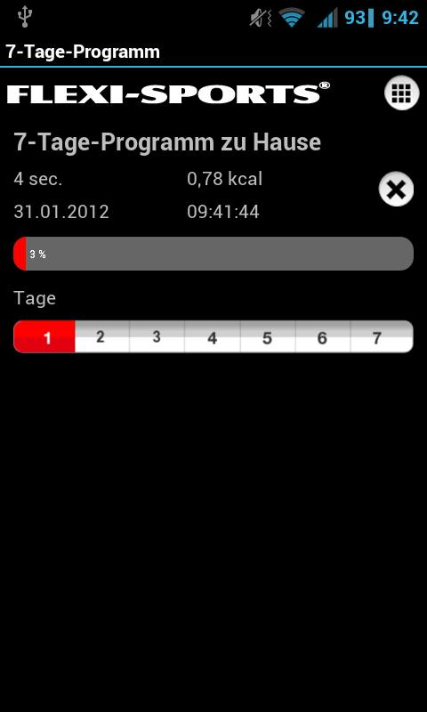 FLEXI-BAR & XCO Workout - screenshot