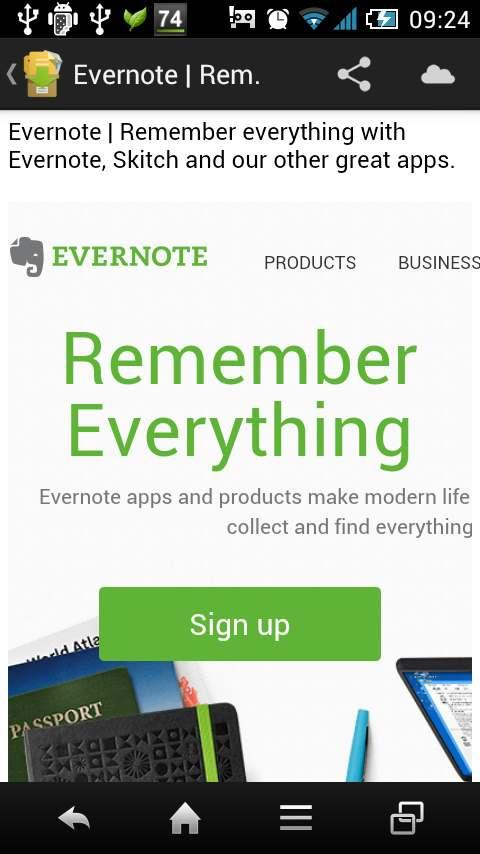 EveryEver(for Evernote)- screenshot