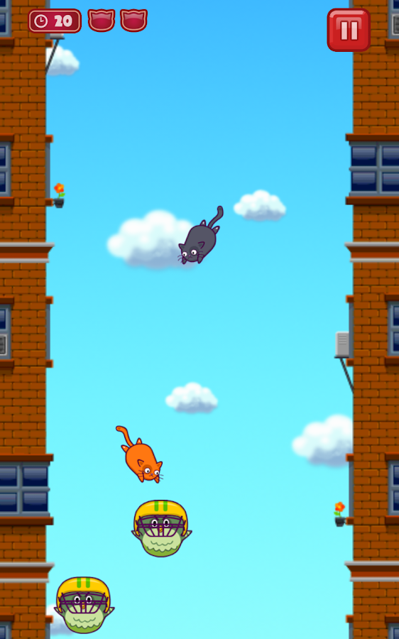 Cats Vs Birds - screenshot