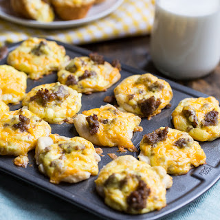 Sausage Biscuit Cups