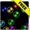 Rainbow bubbles free lwp icon