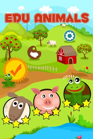 Edu Animals for Kids - Game