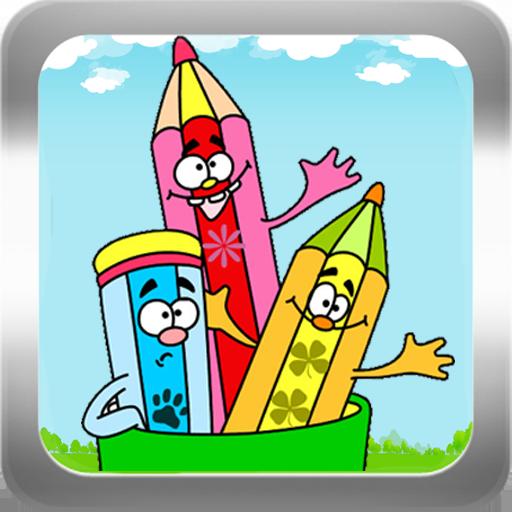 Kids Drawing Coloring Paint 娛樂 App Store-癮科技App