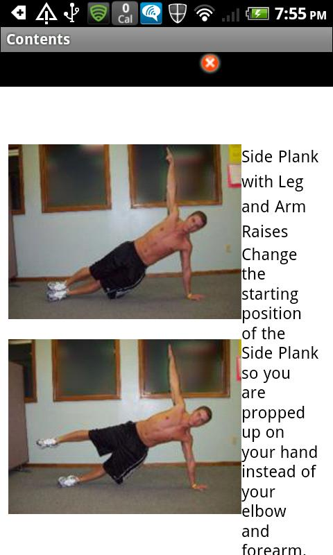 Core Training Program - screenshot