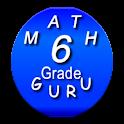 Sixth Grade Kids Math Guru icon