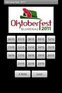Oktoberfest 2011 - Programação- screenshot thumbnail