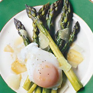 Asparagus with Poached Egg.