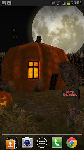 Halloween 3d Live Wallpaper