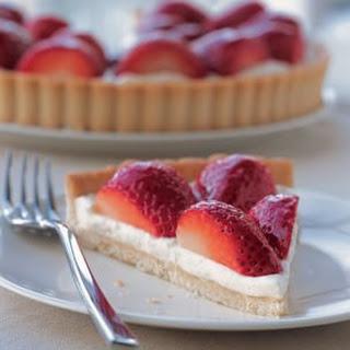 Strawberry–Cream Cheese Tart