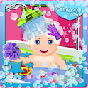 Baby Care and Bath Baby Games icon