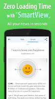 Screenshot of SmartNews