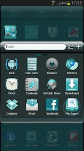 CYANOGEN GO Launcher EX Theme- screenshot thumbnail