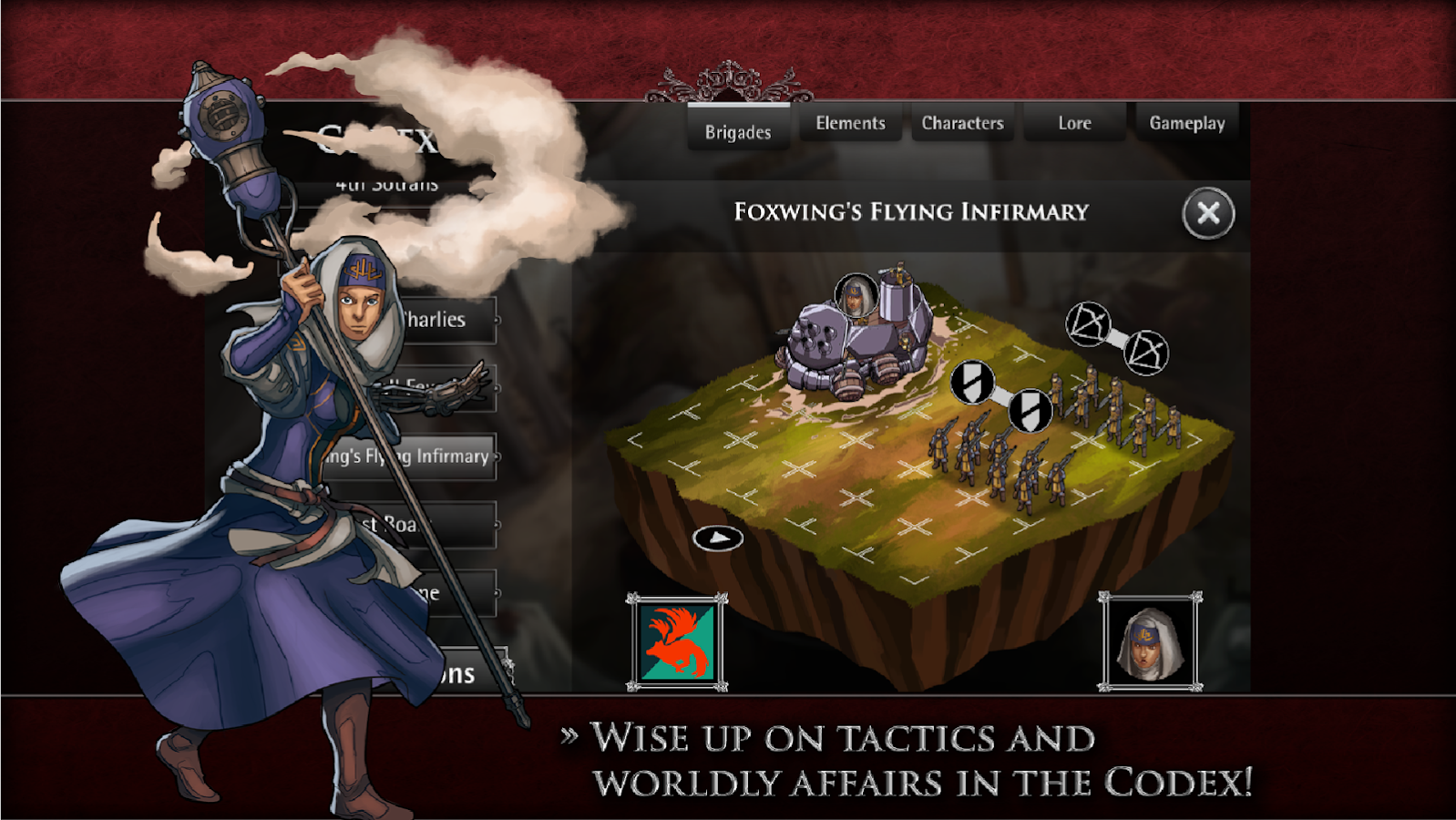 RAVENMARK: Mercenaries- screenshot
