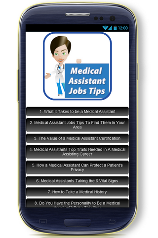 Medical Assistant Jobs Tips - screenshot