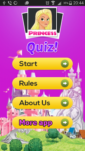 Princesses quiz mania