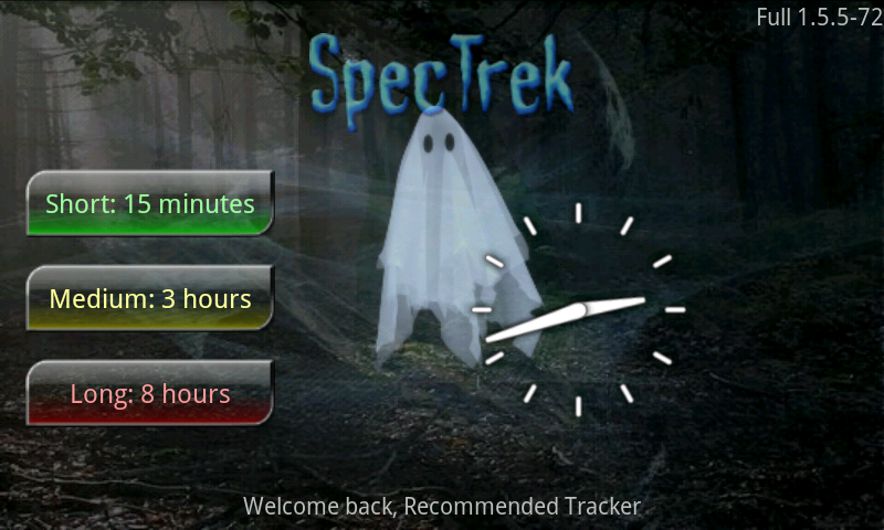 SpecTrek- screenshot