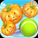 Pumpkin vs Tennis: Halloween