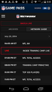 NFL Game Pass screenshot 4