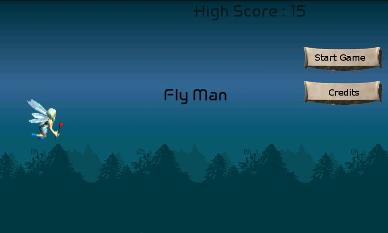 FlyMan - screenshot