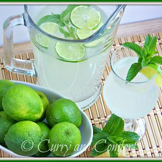 Lime Ginger Mint Cooler