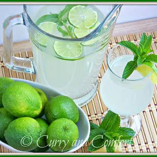 Lime Ginger Mint Cooler.