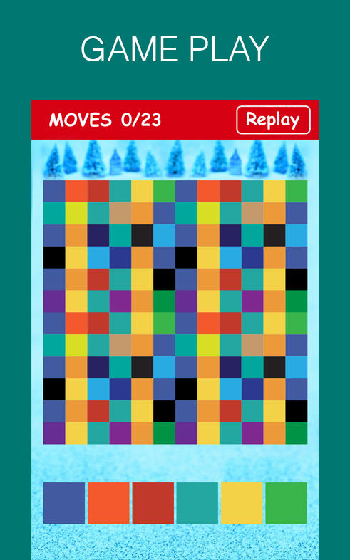Color Flood Puzzle Game - Android Apps on Google Play