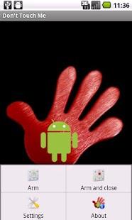 Don't Touch Me- screenshot thumbnail