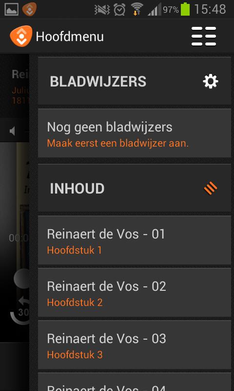 LuisterBieb - screenshot