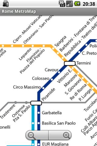 Rome MetroMap Android Apps On Google Play - Rome metro map 2016