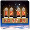 Nixie Tube Clock Widget icon